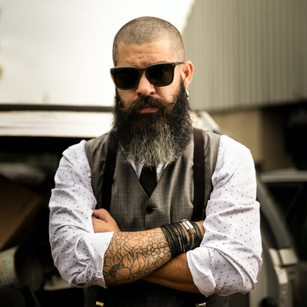 Mooie baard laten groeien