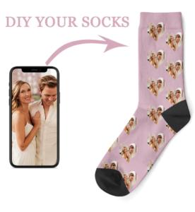 Zelf sokken ontwerpen via Alixpress