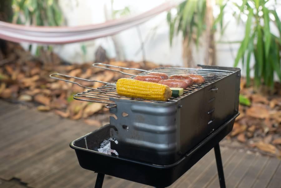 Outdoor portable bbq