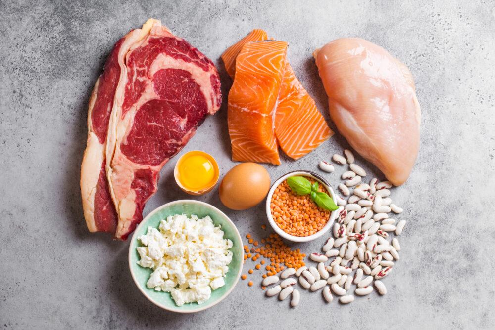 hoeveel gram eiwit per dag